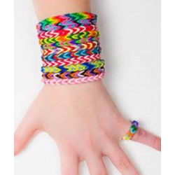 Loom bands élastiques Flashy
