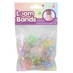 Loom bands élastiques Glitter