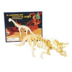 Kit de Dinosaure 3D en bois