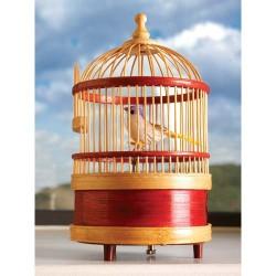 Cage précieuse d'oiseau...