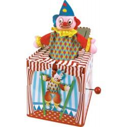 Le Clown qui saute de sa...