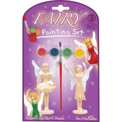 Figurines de fées à peindre