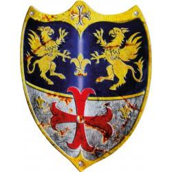Bouclier de chevalier en...