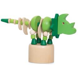 Dinosaures en bois...