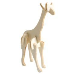 Kit d'animaux 3D en bois à...