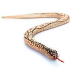 Les 3 serpents en bois et cuir